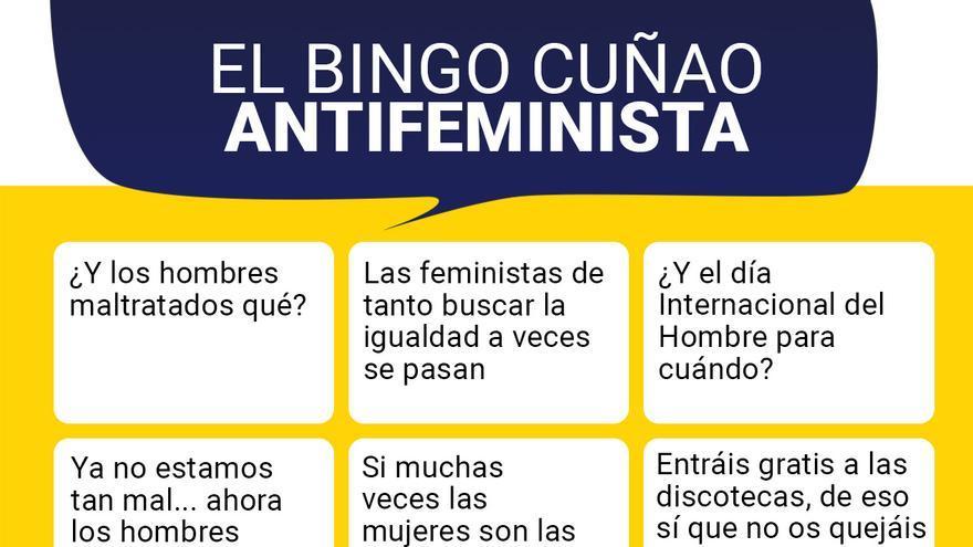 Frases Negativas De La Navidad.El Bingo Cunao Antifeminista Para Las Cenas De Navidad