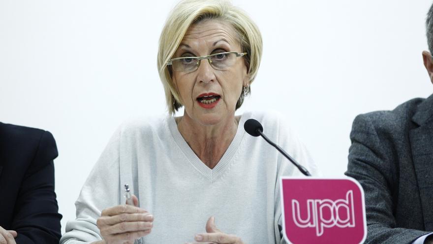 """Rosa Díez celebra que el TC haya puesto """"las cosas en su sitio"""" y declarado ilegal el 9N"""