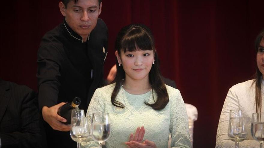 La princesa Mako de Japón llega a Honduras en su primera visita oficial