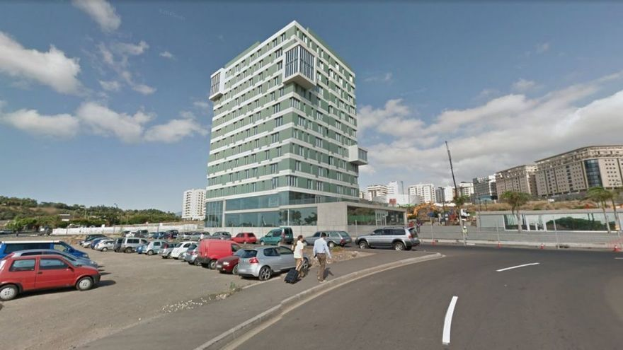 Edificio que ha decidido adquirir por 23 millones de euros el Cabildo tinerfeño, a través del organismo autónomo IASS