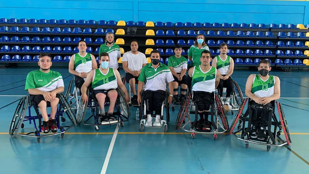 Selección andaluza de baloncesto en silla