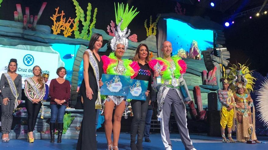 Los Joroperos, ganadores del certamen de Comparsas del Carnaval de Santa Cruz de Tenerife