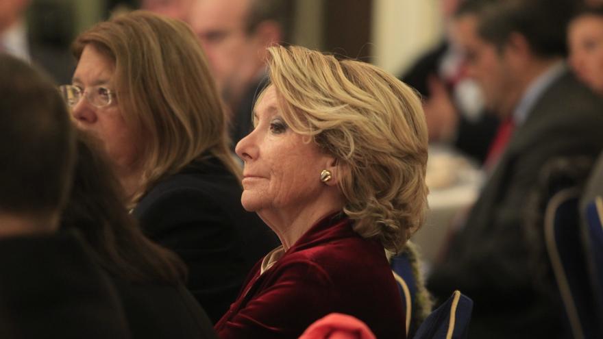 """Aguirre se considera una """"reservista"""" del PP, a quien se recurre cuando con """"los que están en activo no es suficiente"""""""