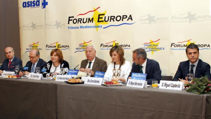 Los candidatos del PP al Congreso han participado en el Fórum Europa. Tribuna Mediterránea