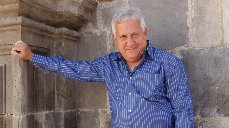 El escritor Juan Calero.