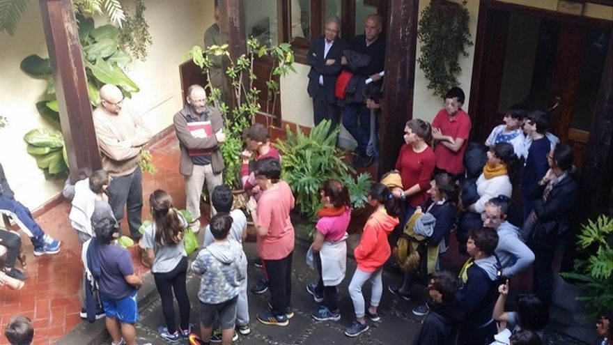 Visita al Ayuntamiento del IES Santa Brígida