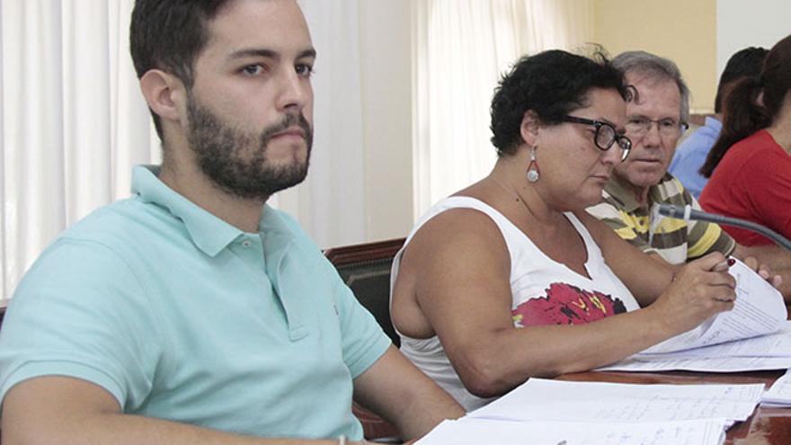 Borja Rubio, portavoz de Somos Lanzarote / Foto: De la Cruz.