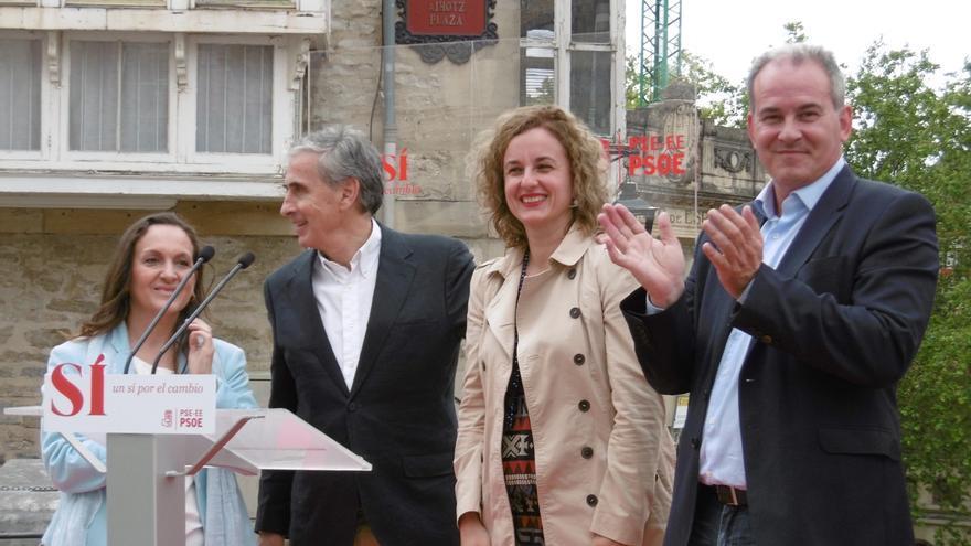 """Jáuregui reivindica la """"historia gloriosa"""" del PSOE frente a la """"falsa copia"""" de Unidos Podemos"""