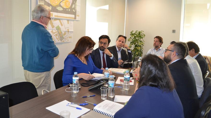 Imagen de la última reunión celebrada por la Junta Rectora del Consorcio Urbanístico