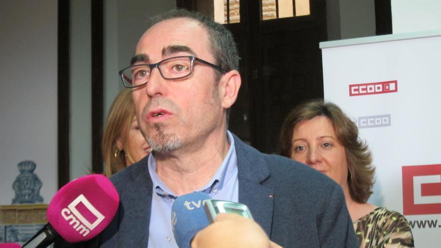 Francisco de la Rosa, secretario regional de CCOO Castilla-La Mancha