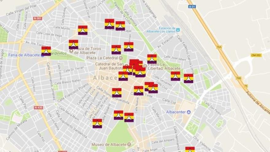 Imagen del mapa interactivo creado por el CEDOBI
