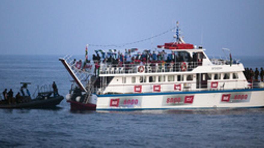 Flotilla con ayuda para Palestina