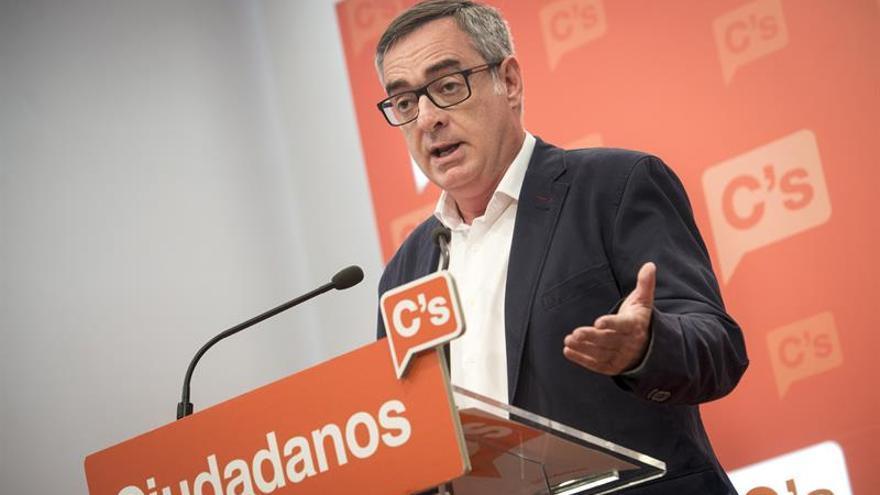 """Ciudadanos advierte a Rajoy de que no caben """"aceptaciones condicionadas"""""""