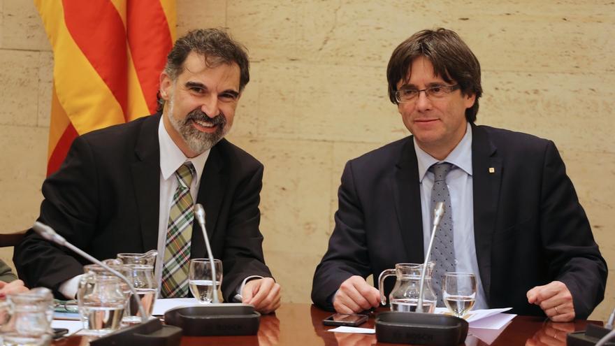 """Cuixart (Òmnium) lamenta que Cataluña sea """"tabú"""" en las negociaciones para formar gobierno"""