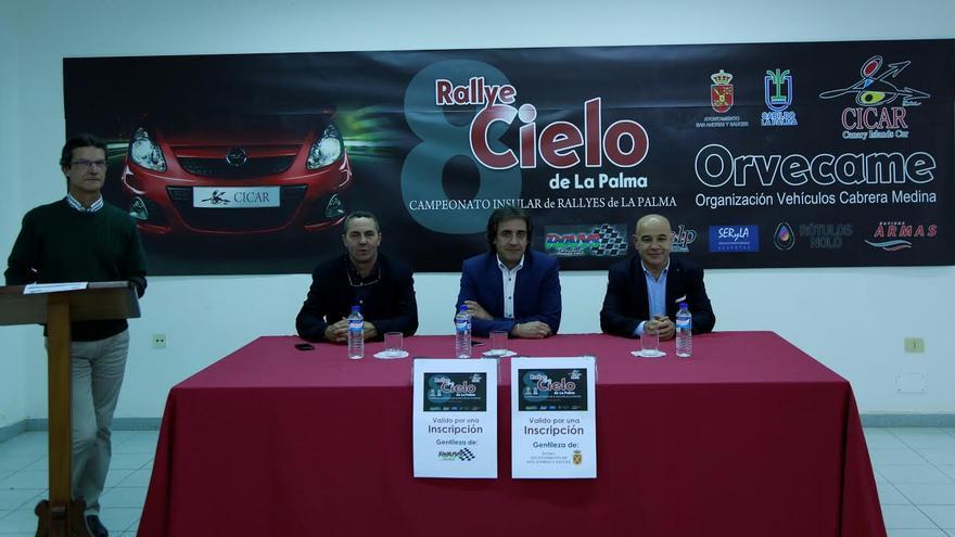 Un momento de la presentación oficial de la 8ª edición del Rallye.