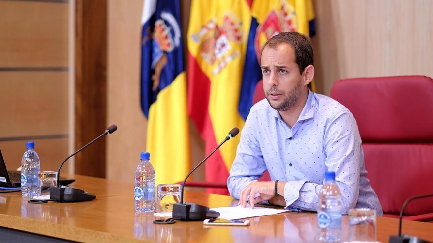 Miguel Montero, consejero de Educación y Juventud del Cabildo de Gran Canaria