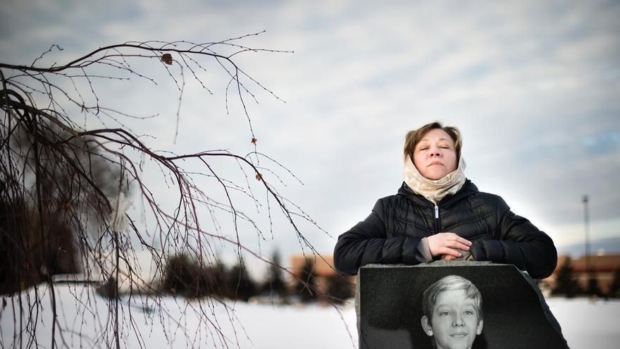 El hijo de Oxsana Naumkin tenía 11 años cuando un amigo encontró el arma de su padre y le disparó.