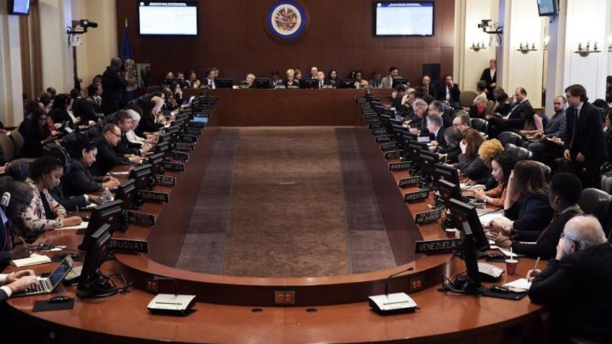 """Veintiséis países piden en la OEA elecciones """"urgentes"""" en Bolivia"""