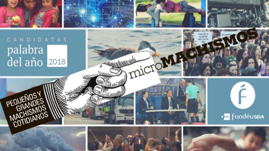 Micromachismo, una de las candidatas a palabra del año