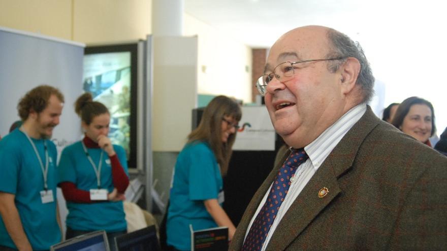 José Carlos Gómez Sal, rector de la Universidad de Cantabria. | Joaquín Gómez Sastre
