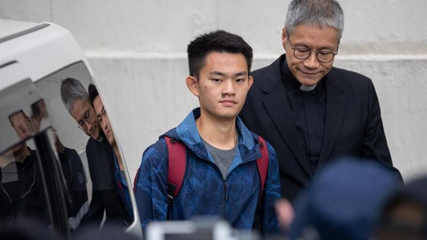 Liberan al sospechoso de asesinato cuyo caso originó las protestas de Hong Kong
