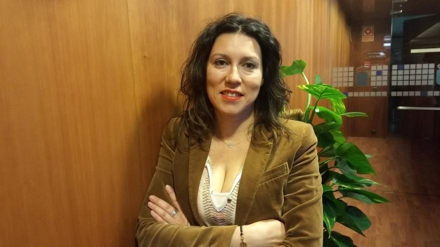 Nuria Rodríguez, diputada de Podemos en la Junta General del Principado.