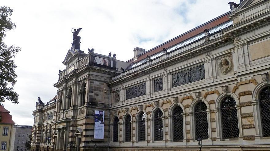 Vista del Albertinum Museum