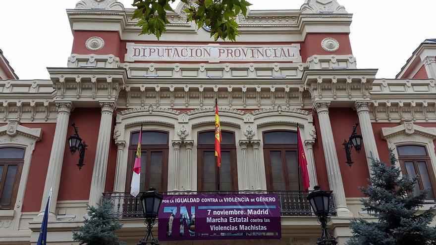 Diputación de Albacete / Foto: Victoria Delicado Useros (Facebook de Marcha 7N contra las violencias machistas)