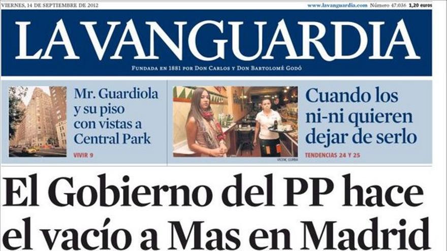 De las portadas del día (14/09/2012) #11