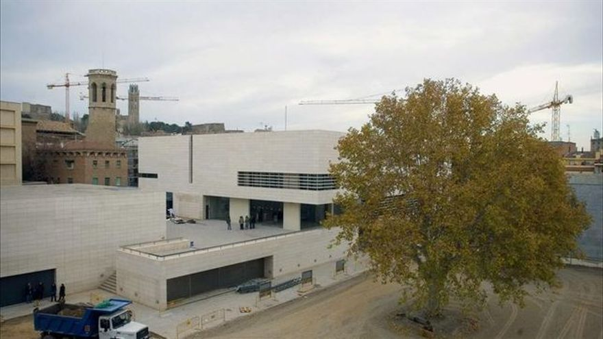Parte de las obras que enfrentan a Aragón y Catalunya se exponen en el Museu de Lleida Diocesà i Comarcal.