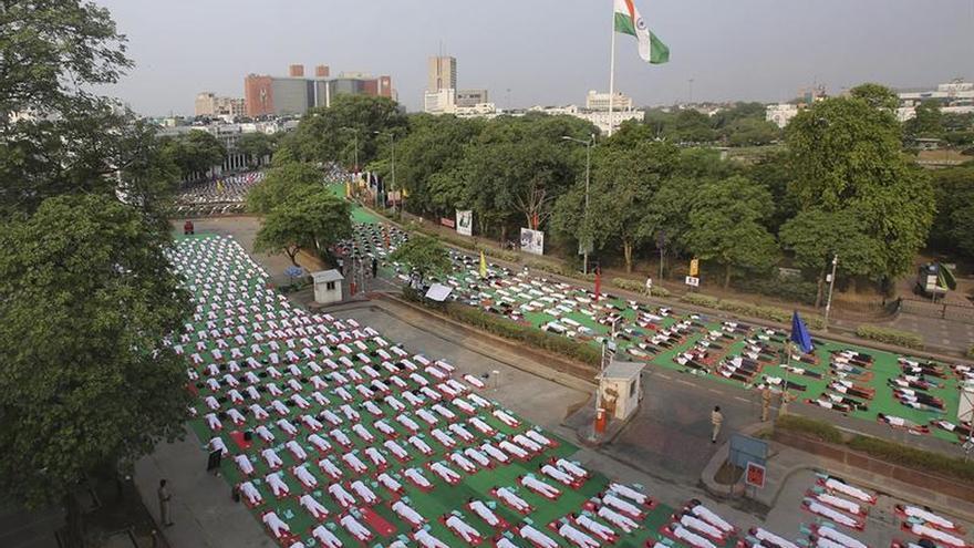 La Unesco declara el yoga de la India Patrimonio Inmaterial de la Humanidad