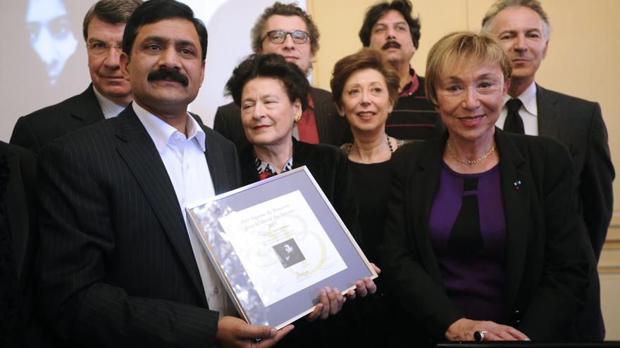 Francia entrega el premio Simone de Beauvoir a la paquistaní Malala Yusufzai