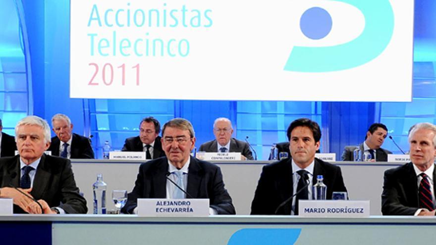 Telecinco ganó un 20% menos, hasta 40.07 millones