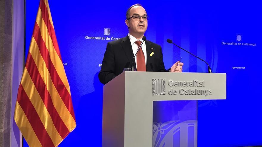 """Turull afirma que le encarcelan por ser fiel al mandato de los catalanes y pide defender la """"democracia"""""""