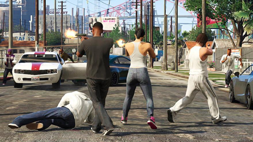 Resultado de imagen para hombre roba auto gta