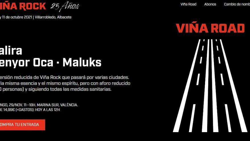 """Acusan a la empresa organizadora del Viña Rock de querer """"usurpar"""" la marca que pertenece al Ayuntamiento de Villarrobledo con un festival itinerante"""