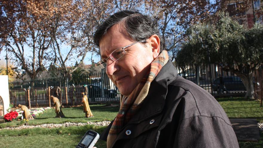 Luis Rodríguez, veterinario del Belén Viviente de Caja Rural