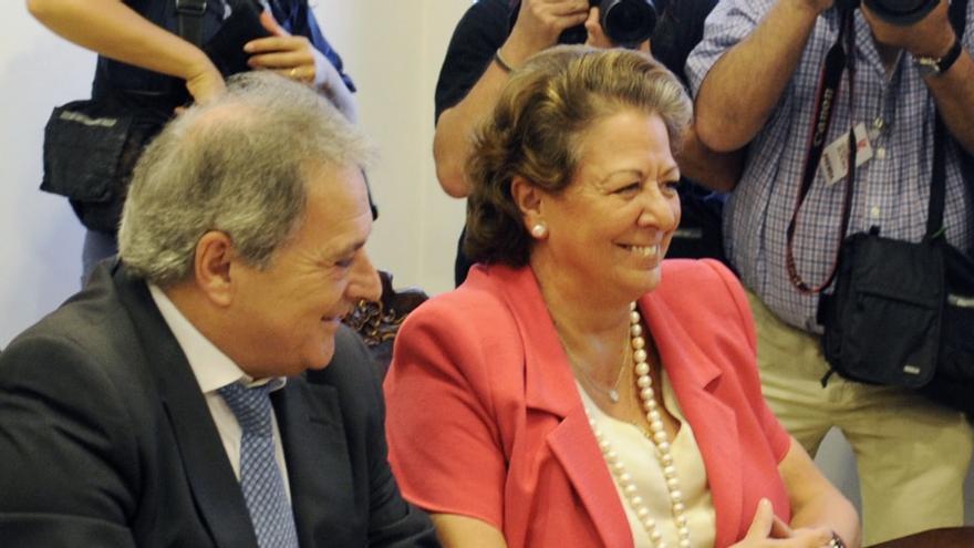 Alfonso Rus y Rita Barberá