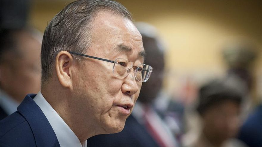 Ban Ki-moon propone una cumbre para adoptar un pacto global sobre refugiados