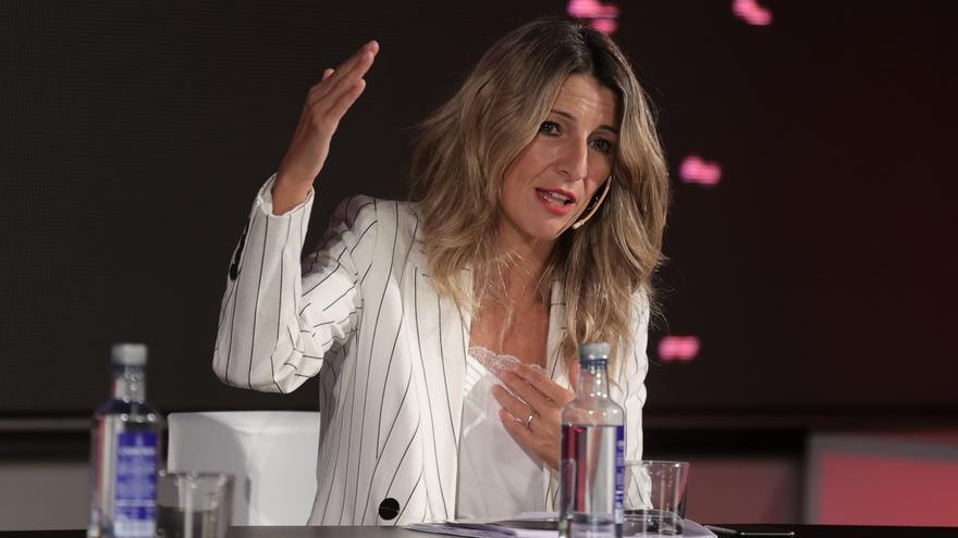 La vicepresidenta segunda y Ministra de Trabajo y Economía Social, Yolanda Díaz. Foto de archivo