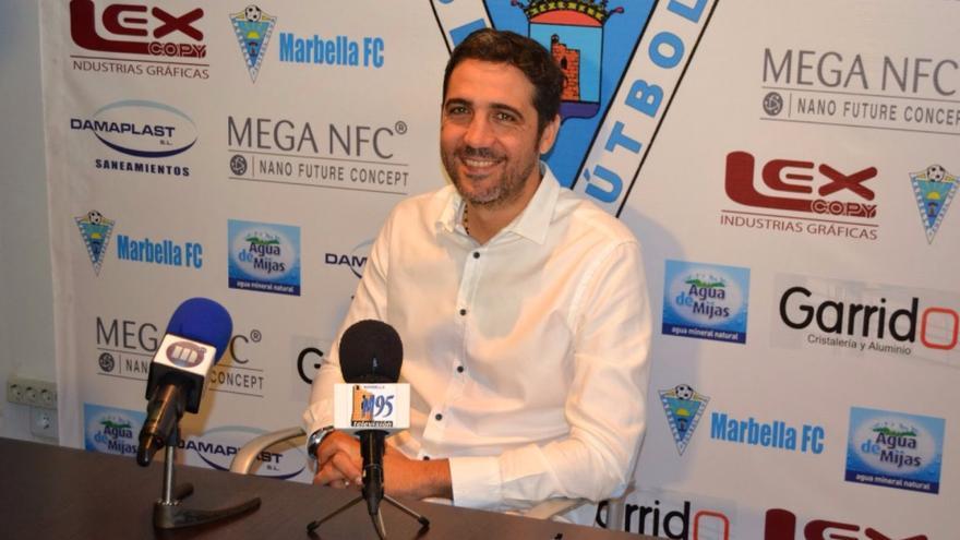 En la imagen, el técnico malagueño Jorge Molina.
