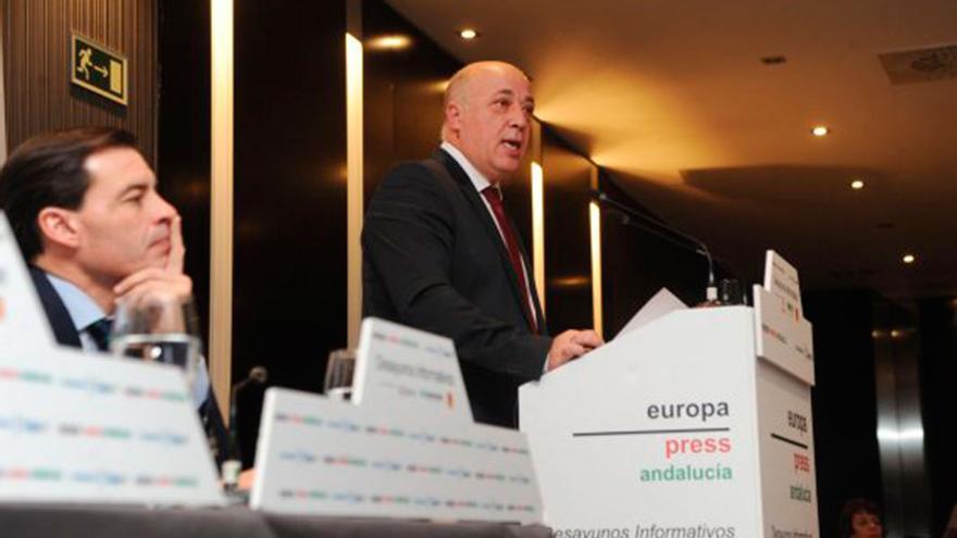 Antonio Ruiz, presidente de la Diputación.