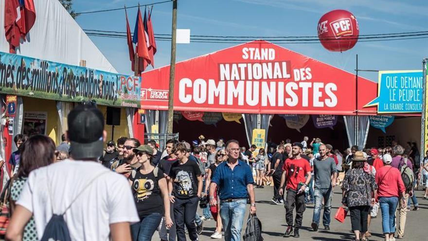 La oposición a la izquierda de Hollande, dividida en la fiesta de L'Humanité