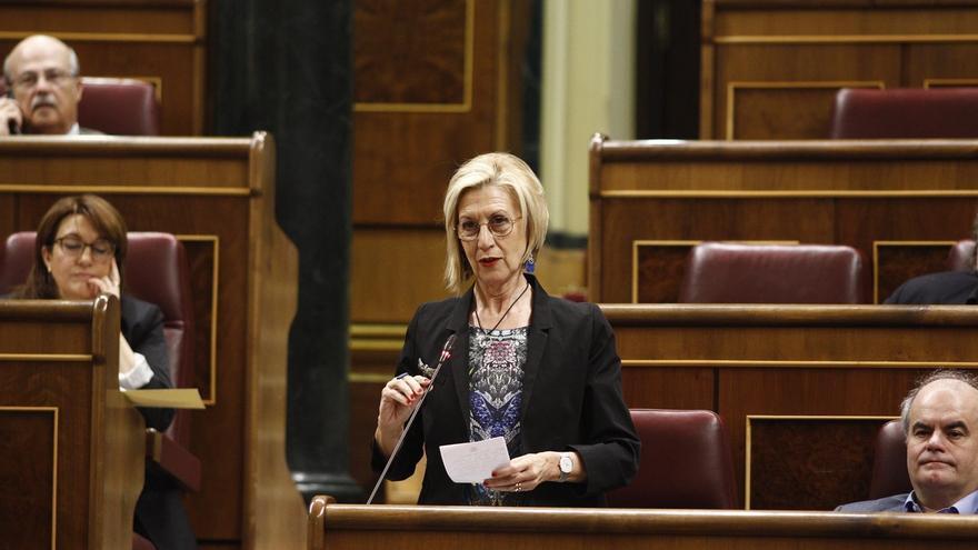 Rosa Díez recuerda que cuando la Guardia Civil abatía a un etarra, los nacionalistas pedían investigación