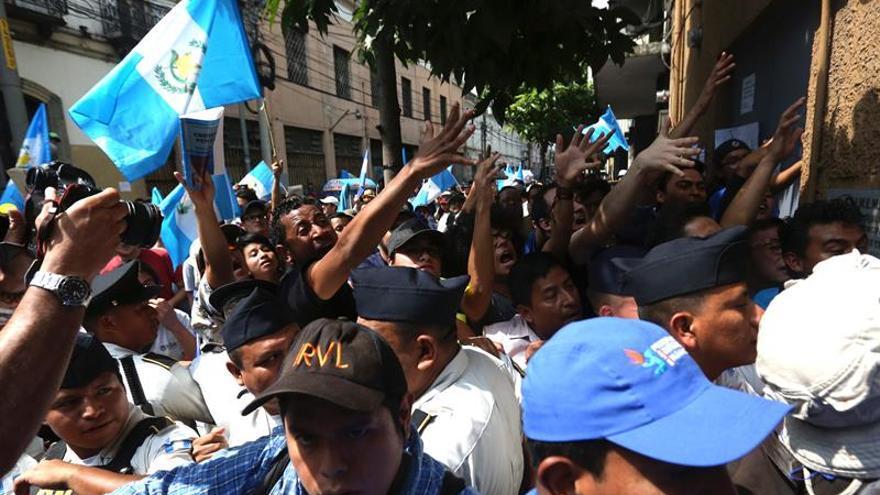 El cerco al Congreso evidencia el rechazo de los guatemaltecos a la corrupción