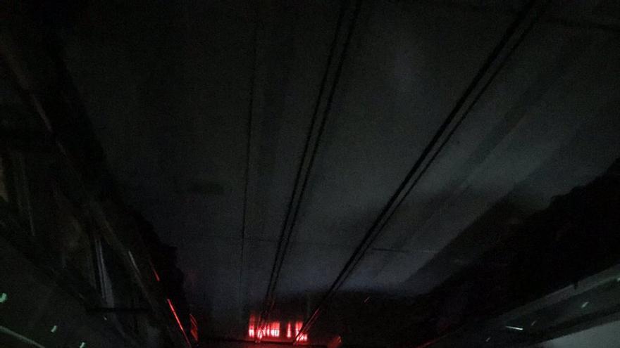 Tren parado esta noche en Navalmoral, y sin energía eléctrica