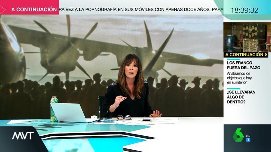 Mamen Mendizábal en 'Más vale tarde'