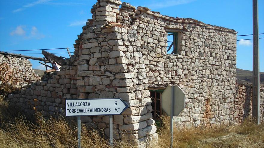 Casa en ruinas cerca de Sigüenza