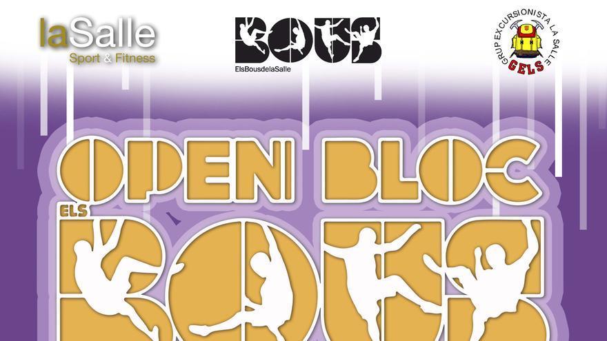 Open Bloc Els Bous de La Salle.