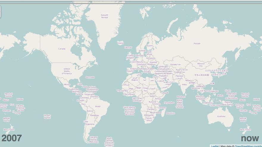 OpenStreetMap, un mapa del mundo hecho entre todos